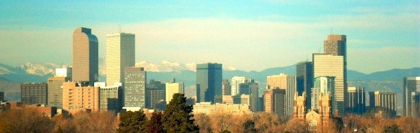 Denver Colorado Skyline West 2